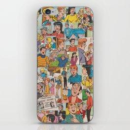 Archie Comics Collage #2 iPhone Skin