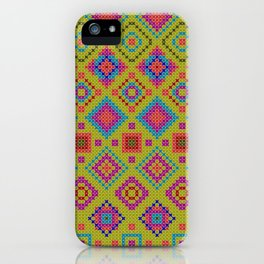 """and the x-dust says """"let's dance"""" iPhone Case"""