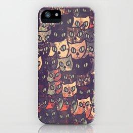 cat-227 iPhone Case