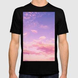 Cranberry Sky Pink Sunrise Print T-shirt