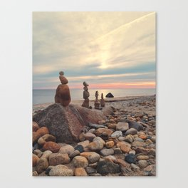 Rock Totems Canvas Print