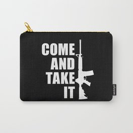 Come and Take it with AR-15 inverse Carry-All Pouch