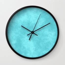 Blueberry Cotton Candy Wall Clock