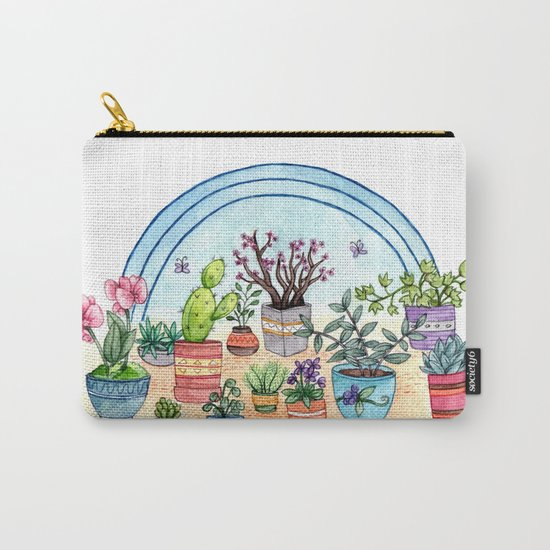 Household Plants Carry-All Pouch