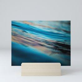Oily Reflection Mini Art Print