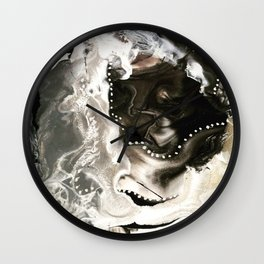 Black & Silver Wall Clock