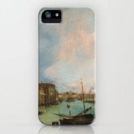 Canaletto Bernardo Bellotto - The Grand Canal In Venice iPhone Case
