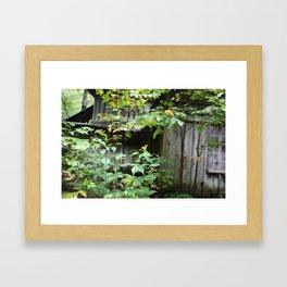 Broken Woods Framed Art Print