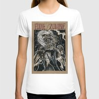 iron maiden T-shirts featuring Eddie the Head / Iron Maiden (DRAWLLOWEEN 8/31) by pakowacz