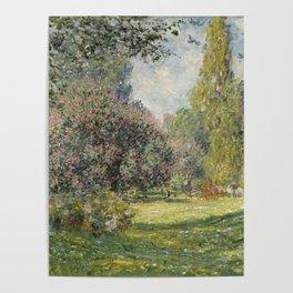 Landscape: The Parc Monceau Poster