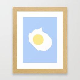 Fried Egg or 煎雞蛋 (Jiān jīdàn), 2014. Framed Art Print