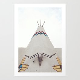 Tucumcari Curiosities Art Print