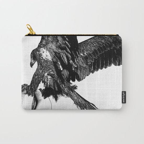 asc 636 - La fauconnière (Bird of prey) Carry-All Pouch