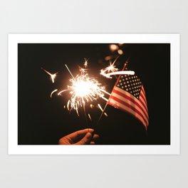 Happy America Art Print