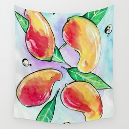 Mangoes Wall Tapestry