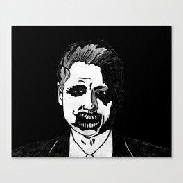 42. Zombie Bill Clinton  Canvas Print