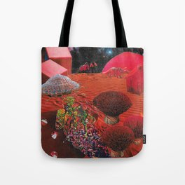 Lay Me to Rest on the Red Planet Tote Bag