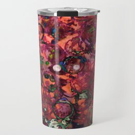 bottlecap roses Travel Mug