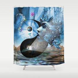 We are Symbols of Light Shower Curtain