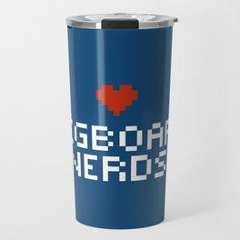 Pegboard Nerds Pixel Travel Mug