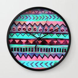 Tribal Pattern 05 Wall Clock