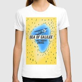 Lake Tiberias The Sea of Galilee Israel Art Print T-shirt