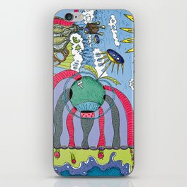 use your imagination iPhone Skin