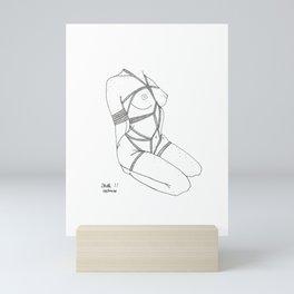 tied up Mini Art Print