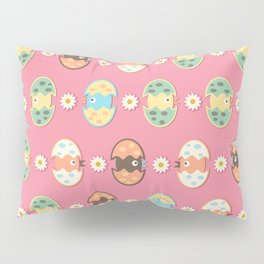 Cute eggs pattern Pillow Sham