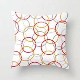 Hula Hoop 02 Throw Pillow