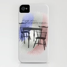 Empty Chairs at Empty Tables iPhone (4, 4s) Slim Case