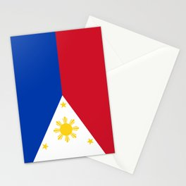Philippines national flag Stationery Cards