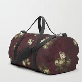 Victorian styled floral pattern Duffle Bag