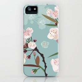 Cherry-Blossoms iPhone Case