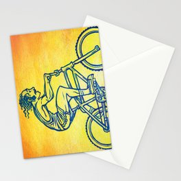 Bicycle 4 Stationery Cards