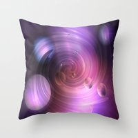 return Throw Pillows featuring Return by Laake-Photos