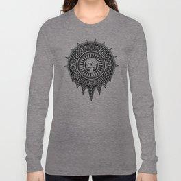 Aztec Death Stone Long Sleeve T-shirt