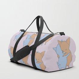 Chihuahua Hugs Duffle Bag