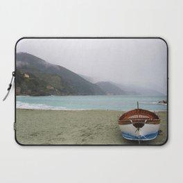 Rainy Beach Days Laptop Sleeve