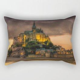 Le Mont Saint-Michel Rectangular Pillow