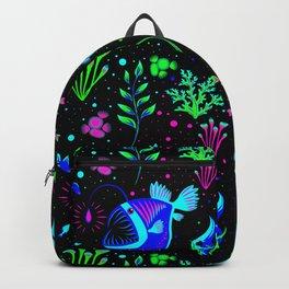 Angler Fish and small fishs Backpack