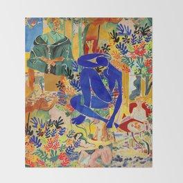 Matisse el Henri Throw Blanket