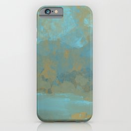 Lake Mountain iPhone Case