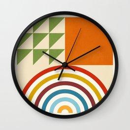 Roud Flow No. 6 Wall Clock