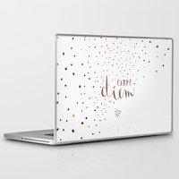 carpe diem Laptop & iPad Skins featuring Carpe Diem by Earthlightened