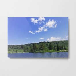 Lake Sky (walker) Metal Print