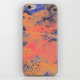 Disarm you with a smile iPhone Skin