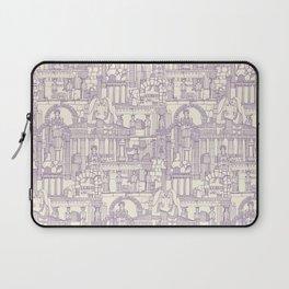 Ancient Greece purple pearl Laptop Sleeve