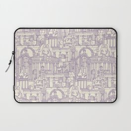 Ancient Greece purple pearl Laptop Sleeve
