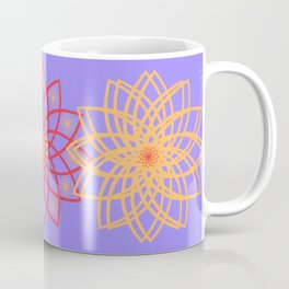 Stylized flowers Coffee Mug